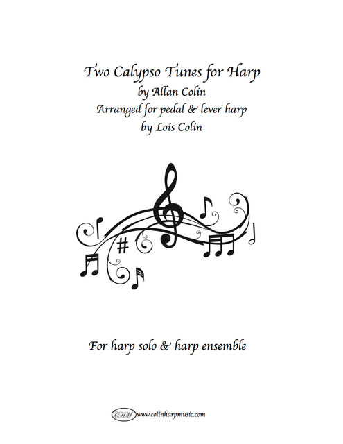 Colin Harp Music Shop - Classic & Newly-Released Harp Sheet Music